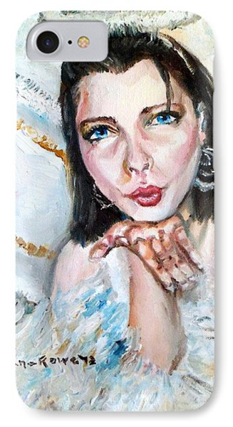 Kiss Of An Angel IPhone Case by Shana Rowe Jackson