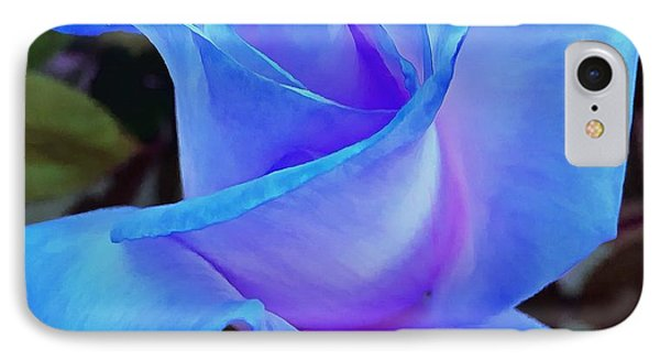 Kiss Of Blue IPhone Case by Krissy Katsimbras