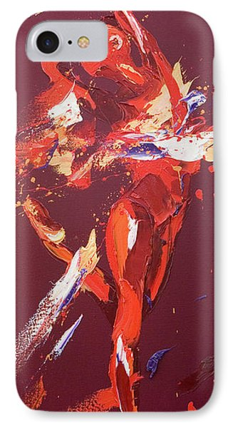 Kiss IPhone Case by Penny Warden