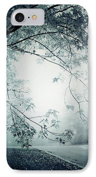 Kissed By Mist IPhone Case by Maggie Terlecki