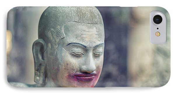Kissing Buddha Angkor Wat  IPhone Case by Stelios Kleanthous
