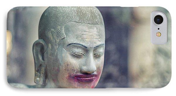 Kissing Buddha Angkor Wat  IPhone Case