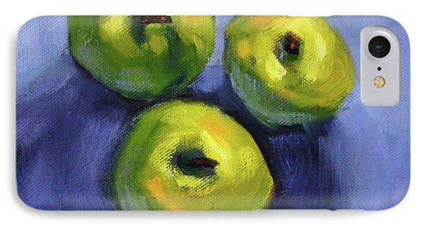 Kitchen Pears Still Life IPhone 7 Case by Nancy Merkle