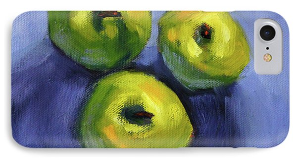 IPhone Case featuring the painting Kitchen Pears Still Life by Nancy Merkle
