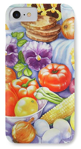 IPhone Case featuring the painting Kitchen Symphony by Inese Poga