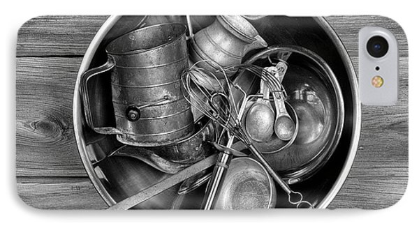 Kitchen Utensils Still Life I IPhone Case by Tom Mc Nemar