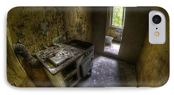 Kitchen With A Loo Phone Case by Nathan Wright