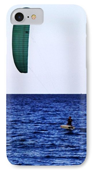 Kite Board IPhone Case by John Wartman