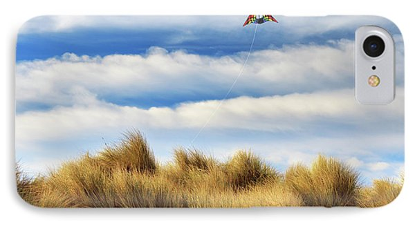 IPhone Case featuring the photograph Kite Over The Hill by James Eddy