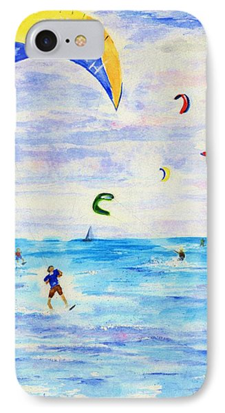 Kite Surfer IPhone Case