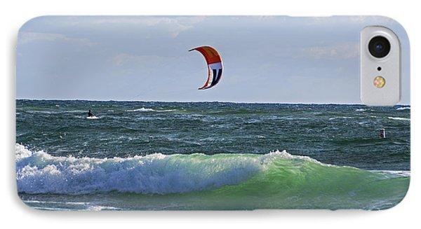 Kiteboards On Pompano Beach Florida IPhone Case