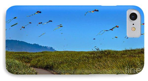 Kites Phone Case by Robert Bales