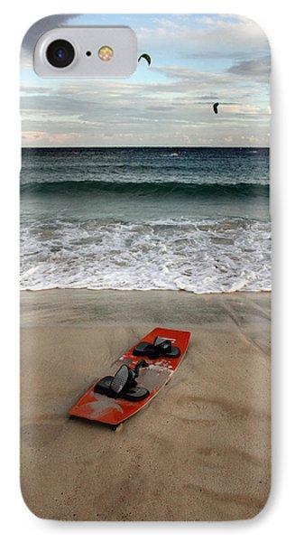 Kitesurfing IPhone Case by Stelios Kleanthous
