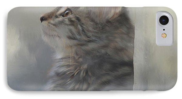 Kitten Zada IPhone Case by Kathy Russell