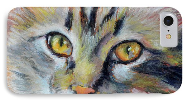 Kitters II IPhone Case by Pattie Wall