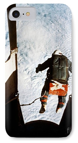 Kittinger Phone Case by SPL and Photo Researchers