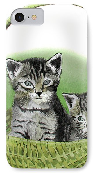 Kitty Caddy IPhone Case by Ferrel Cordle