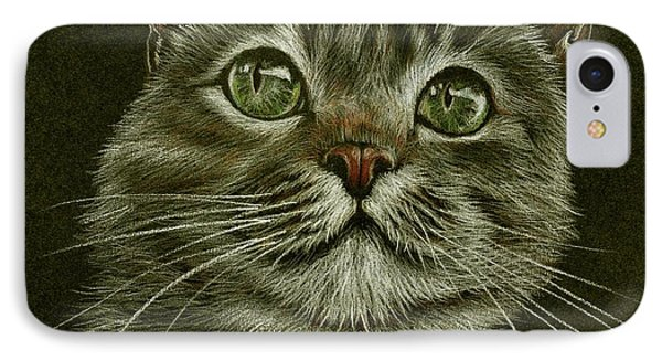 Kitty Cat IPhone Case by Heidi Kriel
