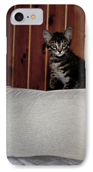 IPhone Case featuring the photograph Kitty by Laura Melis