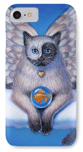 Kitty Yin Yang- Cat Angel IPhone 7 Case