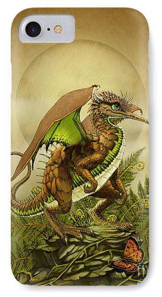 IPhone Case featuring the digital art Kiwi Dragon by Stanley Morrison