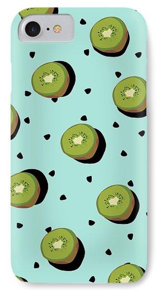 Kiwi Fruit IPhone Case by Elizabeth Tuck