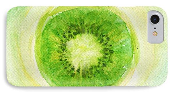 Kiwi iPhone 7 Case - Kiwi Fruit by Kathleen Wong