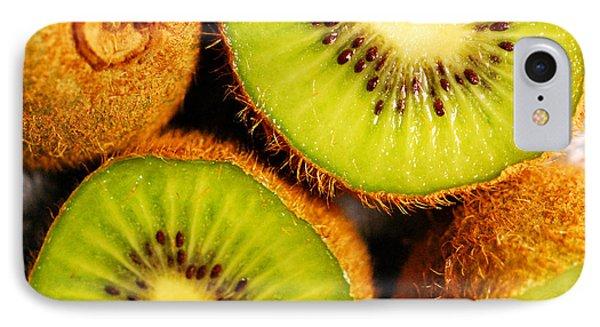 Kiwi Fruit Phone Case by Nancy Mueller