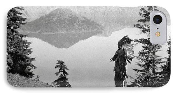 Klamath Chief, C1923 Phone Case by Granger