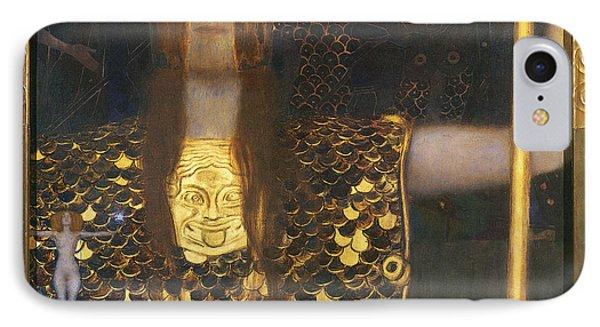Klimt - Pallas Athena 1898 Phone Case by Granger