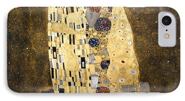 Klimt: The Kiss, 1907-08 IPhone Case by Granger