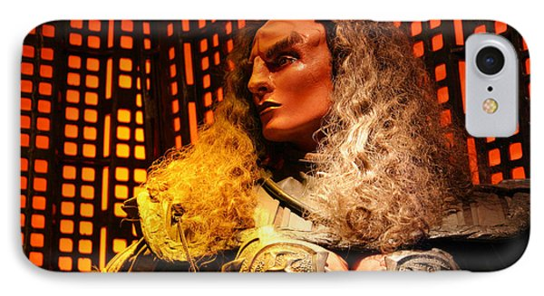 IPhone Case featuring the photograph Klingon by Kristin Elmquist