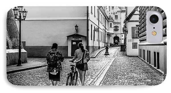 Klostera Street In Old Riga IPhone Case by RicardMN Photography