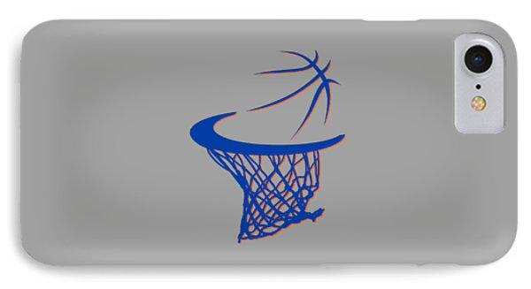 Knicks Basketball Hoop IPhone Case by Joe Hamilton