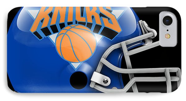 Knicks What If Its Football IPhone Case by Joe Hamilton