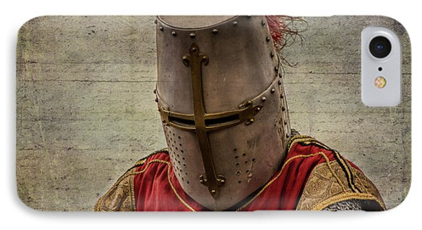 IPhone Case featuring the photograph Knight In Armor by Mary Hone