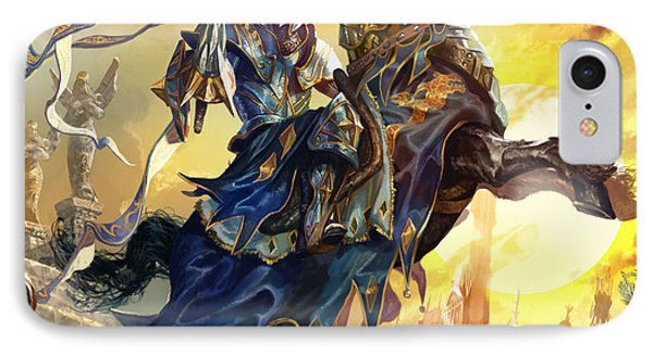 Knight Of New Benalia IPhone Case by Ryan Barger