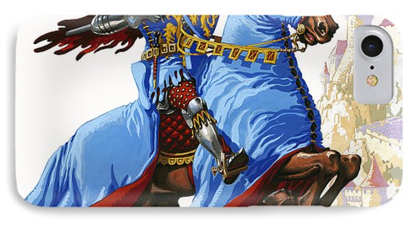 Knight IPhone Case by Pat Nicolle