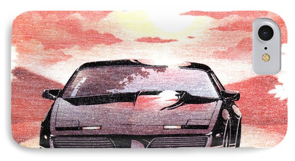 Knight Rider IPhone Case by Gina Dsgn