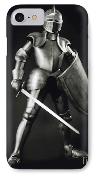 Knight IPhone Case by Tony Cordoza