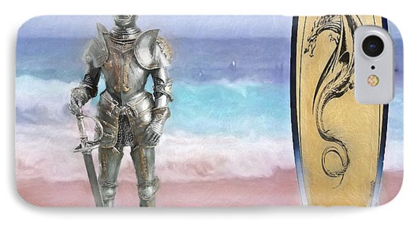 IPhone Case featuring the painting Knights Landing by Michael Cleere