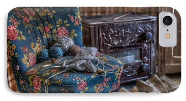 Knitting Corner  IPhone Case