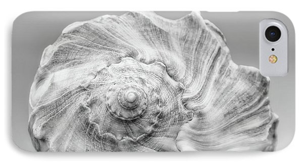 IPhone Case featuring the photograph Knobbed Whelk by Benanne Stiens
