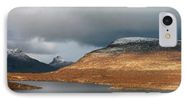 IPhone Case featuring the photograph Knockan Crag Mountain View by Grant Glendinning