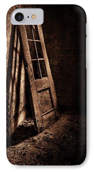Knockin' At The Wrong Door IPhone Case by Evelina Kremsdorf