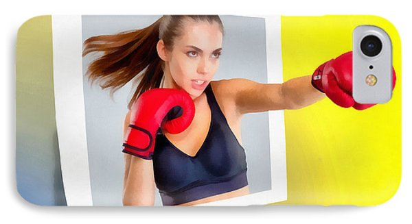 Knockout IPhone Case by Anthony Caruso
