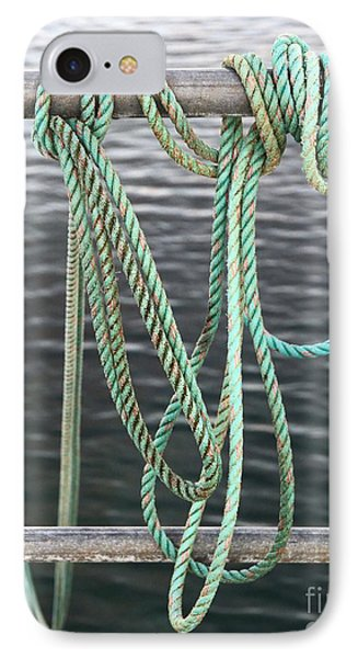 IPhone Case featuring the photograph Knot Of My Warf II by Stephen Mitchell