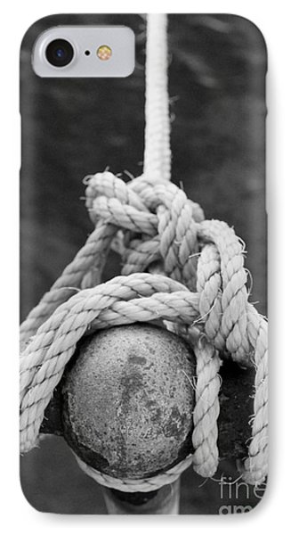 IPhone Case featuring the photograph Knot On My Warf Iv by Stephen Mitchell