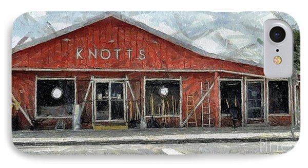 Knott's Hardware Phone Case by Murphy Elliott