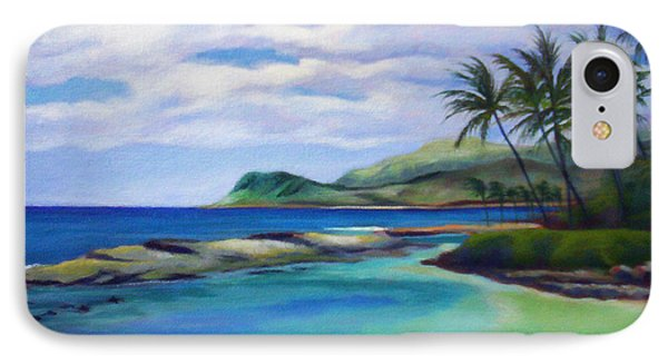 Ko Olina Afternoon IPhone Case by Angela Treat Lyon